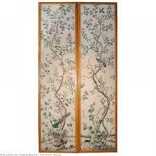 Tableau Avec Papier Peint Paire De Panneaux En Papier Peint Xviiie Siècle N 37119