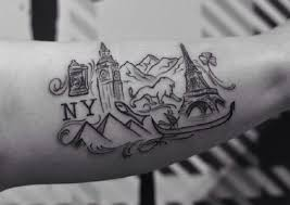 travel tattoos images 23 inspiring and awesome travel tattoo ideas surf and sunshine jpg