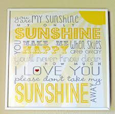 You Are My Sunshine Decorations You Are My Sunshine Decor Techieblogie Info