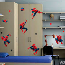 spiderman ready for action giant stickers great kidsbedrooms home spiderman ready for action giant stickers