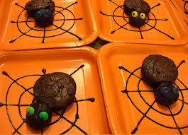 just in time for halloween eeeeeeeeek brownie spiders inside