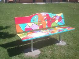 painted bench ideas home design inspirations