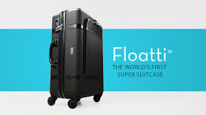 suitcases floatti the world u0027s first super suitcase by floatti inc