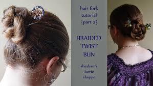 hair fork how to wear a hair fork part 1 shealynn s faerie shoppe
