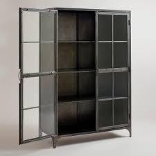 world market bar cabinet metal display cabinet world market 899 00 storage behind check in