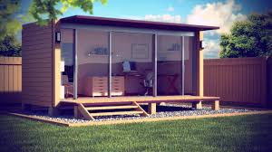 backyard shed office beautiful prefab backyard office kit trelis