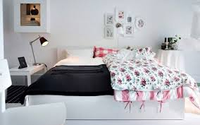 Ikea Bedroom Lamps Ikea Bedrom With Modern Freestanding Lamp And White Bed Design For