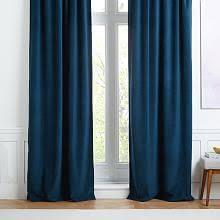Charcoal Drapes Velvet Curtains West Elm