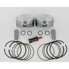 kb performance hypereutectic piston kit 3 875 in bore kb409c