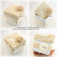 personalized wedding favor boxes chagne wedding favors personalized lace wedding favor