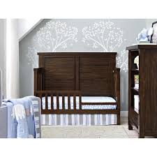 Cribs That Convert Into Toddler Beds by Bertini Timber Lake Toddler Bed Conversion Kit Dark Walnut