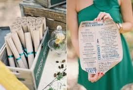 scroll wedding programs 25 stunning and entertaining wedding programs to get inspired
