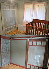 nursery with a planked wall before and after handmade