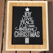 christmas signs chalkboard and vinyl christmas signs weekend craft
