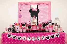 minnie mouse party minnie mouse party table wish