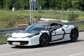 camo ferrari 458 ferrari spied testing 458 facelift will likely get new turbo u0027d v8