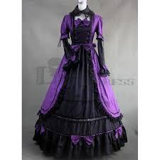 buy fancy dress for halloween long sleeves bowknot ruffles ball
