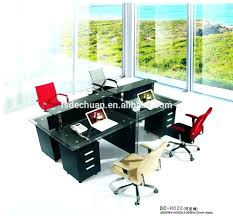 desk for 3 people desk 34 home office furniture for two people 3 person office desk