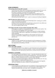 Example Of The Best Resume by Examples Of Resumes Resume Example Basic For Objective In 93