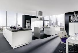 Contemporary White Kitchen Cabinets Kitchen Modern White Kitchen Cabinets With Black Countertops