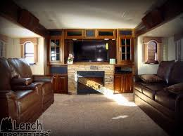 5th wheel with living room in front 20 dashing fifth wheel cers with front living rooms