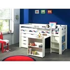 lit surélevé avec bureau lit superpose avec bureau pas cher lit mezzanine avec bureau pas