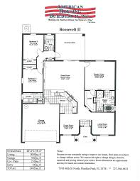 roosevelt floor plan floor plans u0026 elevations american housing builders