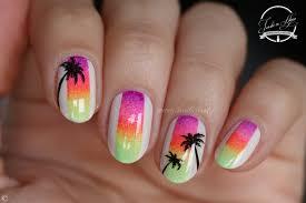 nail art nailstorming pastel vs fluo nature nails nails art
