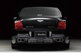 bentley wald continental gt black bentley u0027s flying spur gets wald u0027s black bison design wemotor com