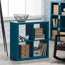 decor cube bookcase cubby storage stackable cube bookcase