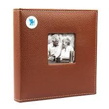 Large Leather Photo Album Photo Album Leather Amazon Co Uk