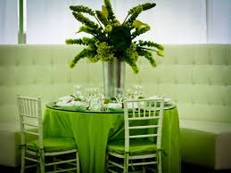 green table decorations elegant christmas centerpieces wedding