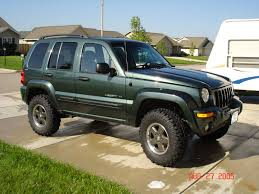 jeep liberty suspension components and lift kits