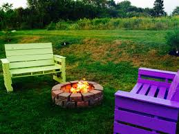 Firepit Chairs Patio Pit Furniture Out Of Repurposed Pallets Chairs Diy