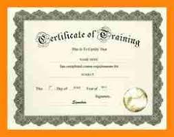 4 training certificate template word nurse resumed