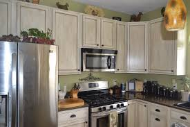 Kitchen Glazed Cabinets White Glazed Cabinet Transformations A Review A Year Later