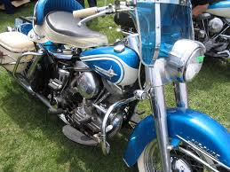 original paint blue 1958 1965antique and vintage harley