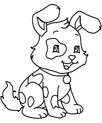 Little Dog Coloring Page Dog Pinterest Dog Coloring Books Dogs Color Pages