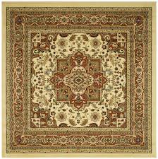 7x7 Area Rugs Square Area Rugs 7x7 Busick Ivorysilver Area Rug Awesome