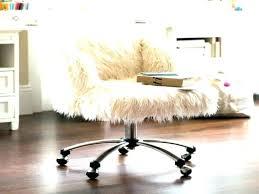 faux fur desk chair furry office chair fur desk chair fur chair cover medium size of