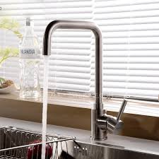 Polished Nickel Kitchen Faucets Top Rated Polished Nickel Kitchen Faucet With Pb Free Stainless Steel