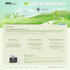 download template html for seo company
