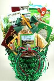 non food gift baskets gift basket time golf themed gift basket