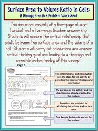 cells surface area to volume ratio in cells by amy brown science