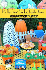 it u0027s the great pumpkin charlie brown halloween party ideas