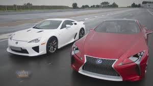 lexus lf fc lexus lfa meets the lf lc youtube