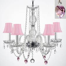 Pink Chandelier Light Fruit And Color Crystal Chandelier Chandeliers Crystal Chandelier
