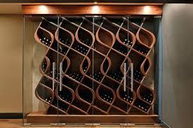 nambe curvo wine rack in deluxe espresso wine rack with espresso