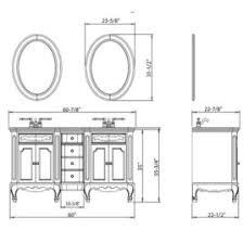 Standard Height Of Vanity What Is The Standard Height Of A Bathroom Vanity Vessel Sink