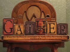 Word Blocks Home Decor Faith Hope Love Wood Block Sign Religious Sign Home Decor